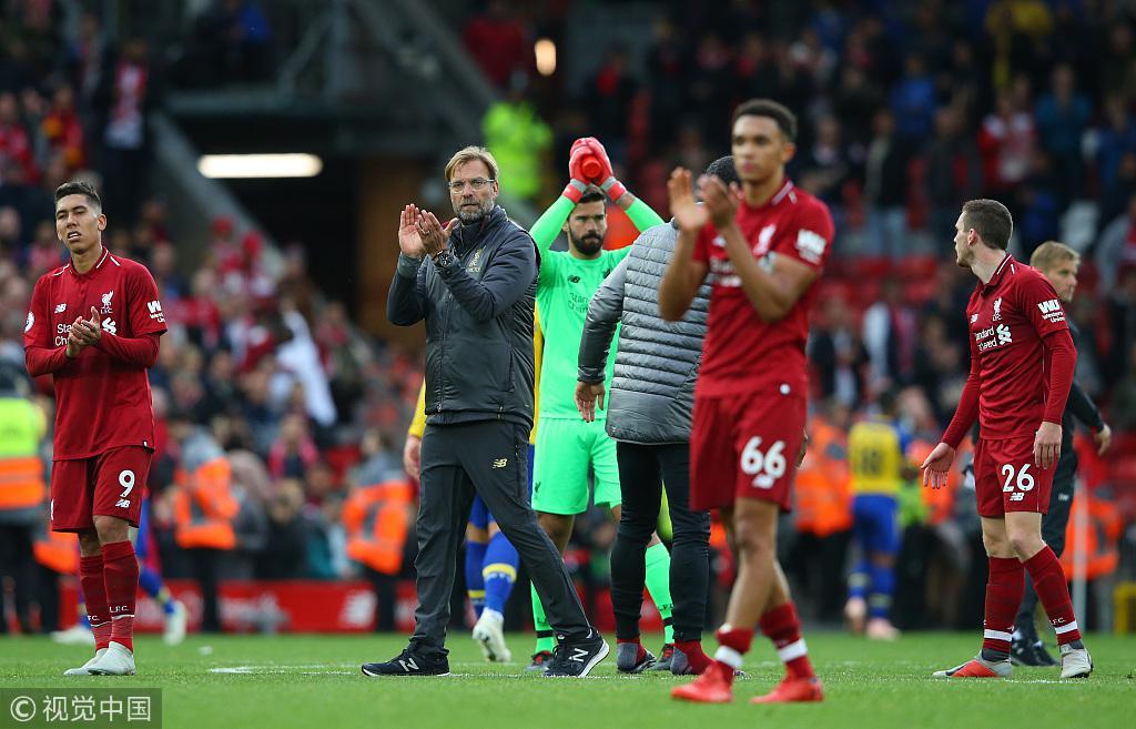 开局7连胜!利物浦创126年队史纪录 史上最强红军?