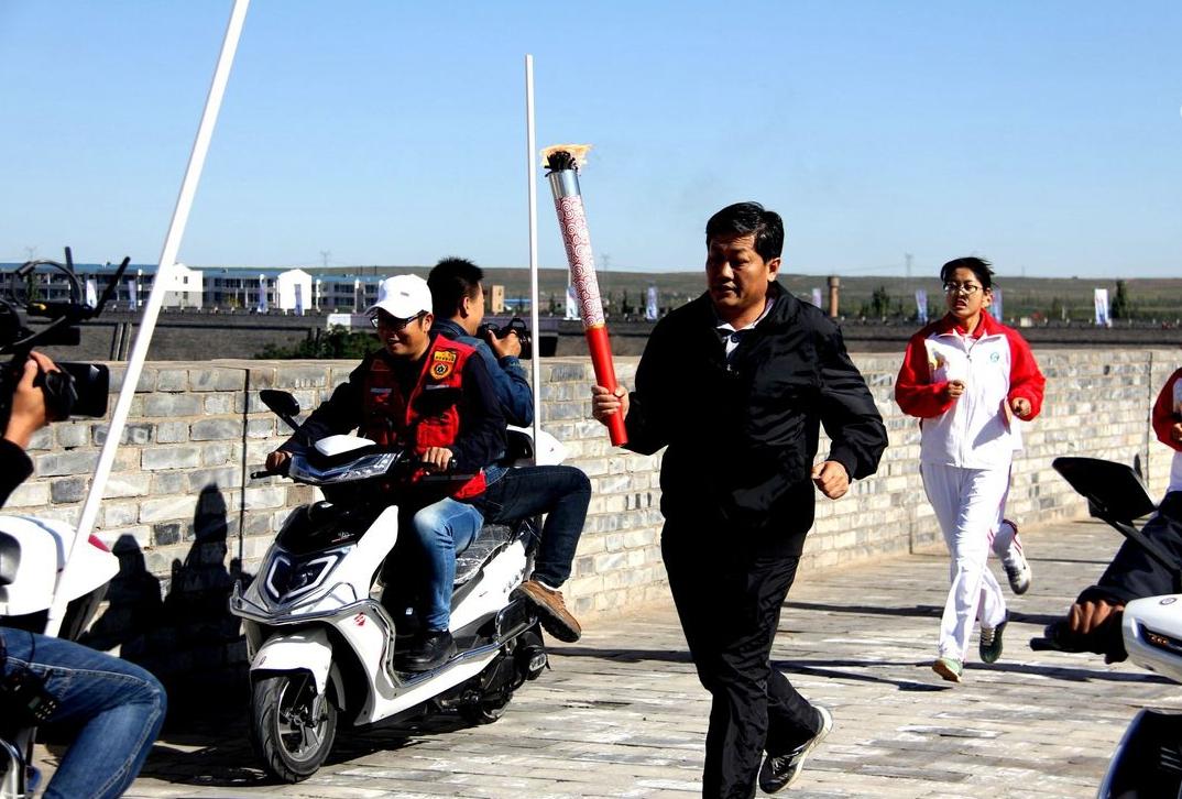盐池县首届古城迷你马拉松比赛掠影