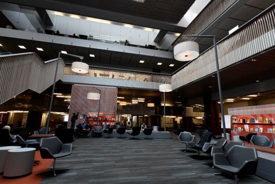 华盛顿大学Odegaard图书馆