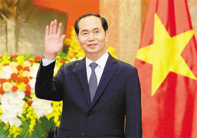 越南将为陈大光举行国葬:降半旗 停止一切娱乐活动