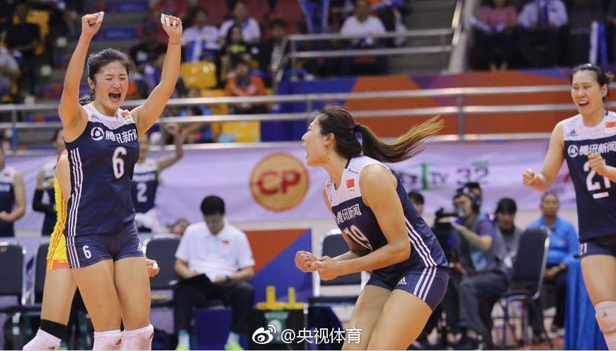 亚洲杯中国女排二队3