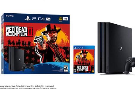 《荒野大镖客2》同捆PS4 Pro公布 库巴公主引热潮
