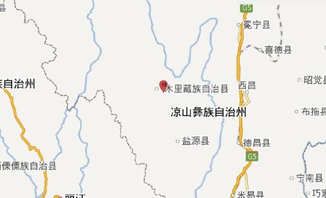 四川凉山州木里县发生3.2级地震 震源深度9千米