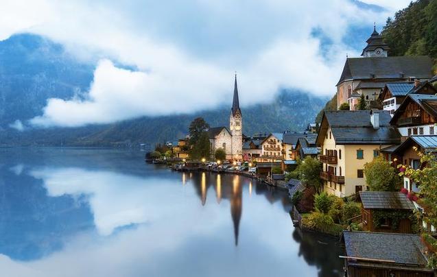 奥地利这些地方 美得惊心动魄却又很低调!