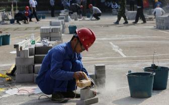 福建选手在全国砌筑工技能竞赛中获佳绩