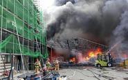 韩工厂起火 1名中国人身亡