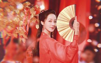 韩雪古风献唱湖南卫视中秋晚会 网友:又见红衣