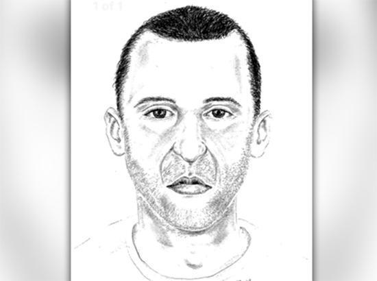 达拉斯警局给出的嫌犯速写照