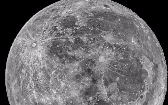 """四川的中秋月""""躲""""到攀枝花去了 远程望远镜为你拍了下来"""