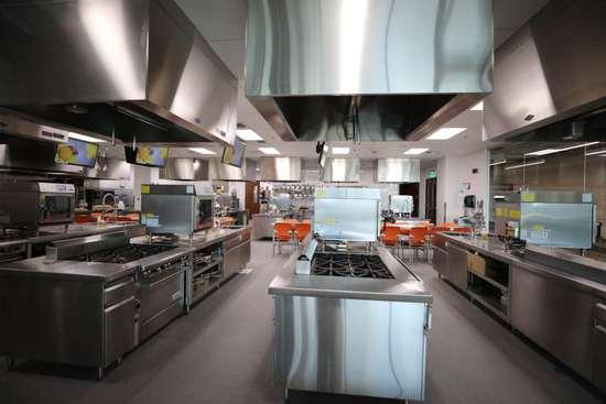 UNLV酒店管理学院与万豪集团打造的真实互动食堂(周成刚/摄)