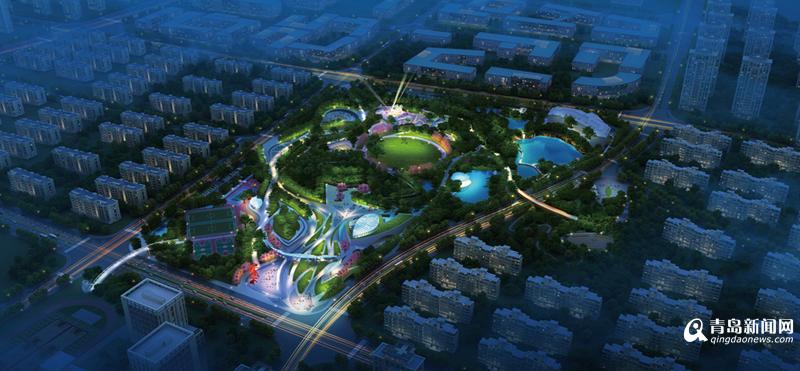 """即墨西新增一大型公园 占地超10万平方将成""""城市绿肺"""