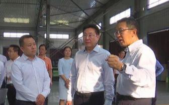 何辛幸率河池代表团到北京有关企业考察