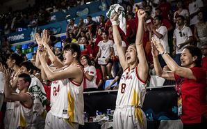 中国女篮87-81日本 晋级世界杯8强