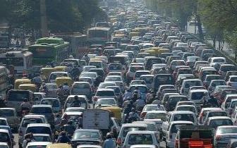郑州拥堵指数全国排名下降至54名!