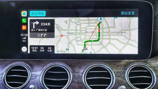 高德地图升级新版本 成首个支持Carplay地图厂商