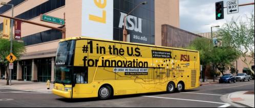 亚利桑那州立大学的免费shuttle