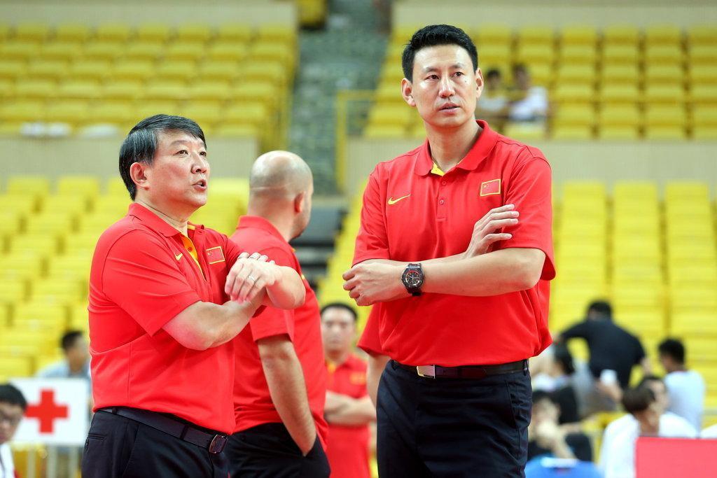 宫鲁鸣(左)与李楠(右)