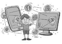 柳叶刀:儿童每天使用电子设备超2小时 有损大脑