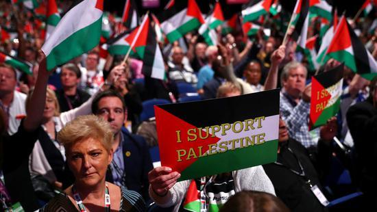 英国工党称若取得大选胜利 将承认巴勒斯坦国