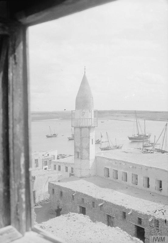 沃季赫街景,摄于1917年
