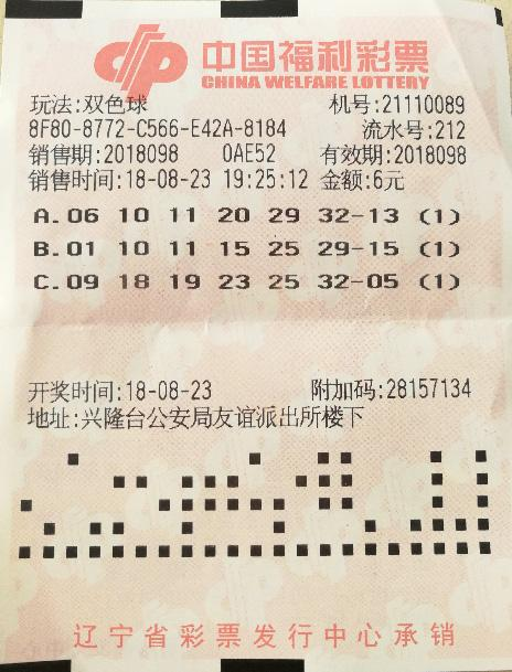 盘锦733万大奖得主终现身 中奖彩票曝光!