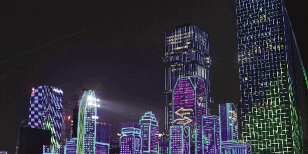 超燃!灯光秀周五首秀 深圳夜空将被150万盏灯点亮