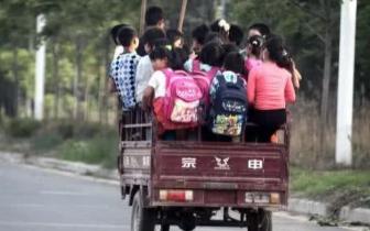 永城一男子驾驶电动三轮车非法接送小学生被行拘