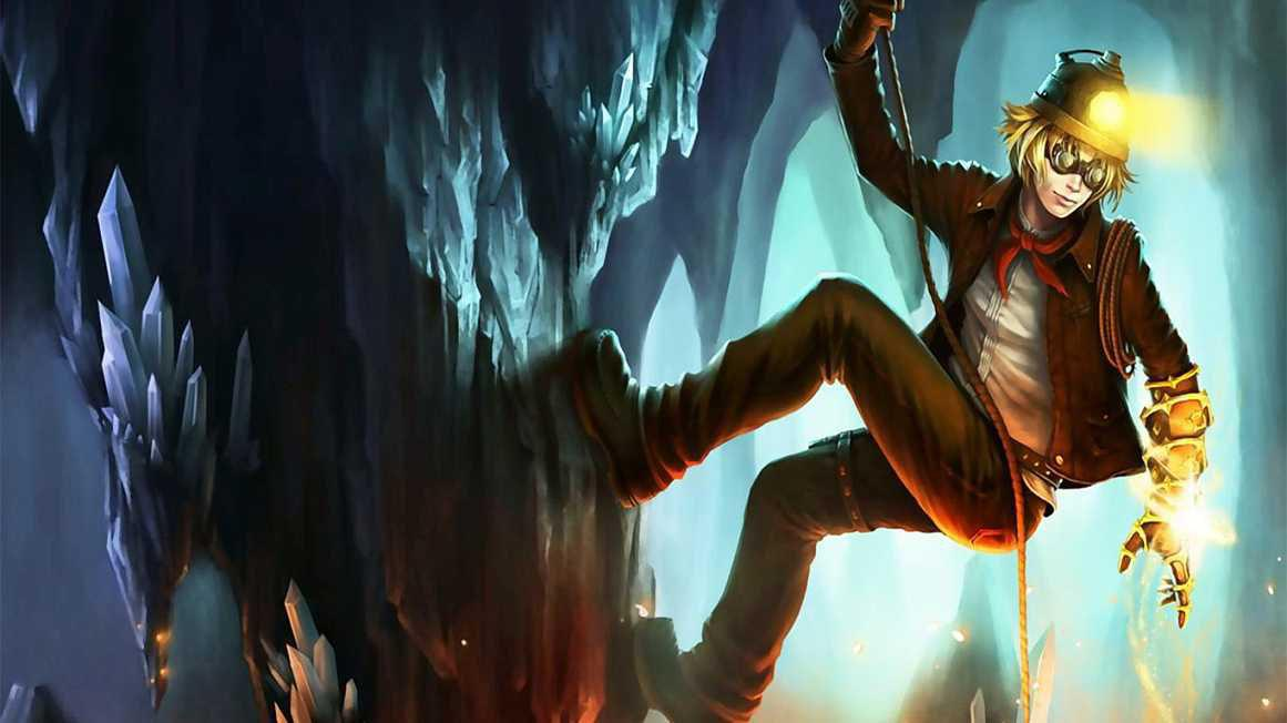 《英雄联盟》EZ皮肤原画更新 这不是我认识的矿工皮肤!