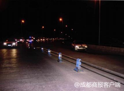 小伙吸食笑气后开车 超速驶入人行道致1人死亡