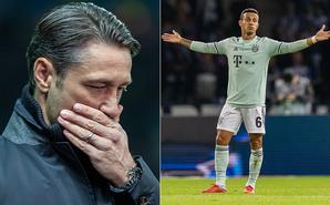德甲-博阿滕送点 拜仁吞赛季首败