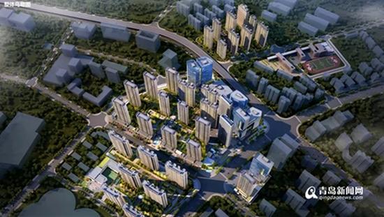 青岛最贵城中村改造规划出炉!未来这里变这样