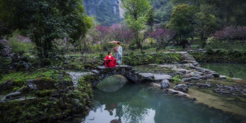 桃花源门票国庆节起降价 酉阳喊你来体验古风文化之旅