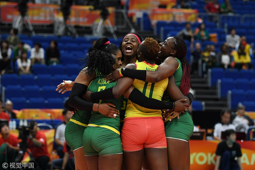 女排世锦赛美俄巴西均3-0 韩国2-3泰国非洲首胜