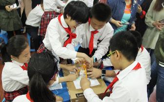 石家庄市小学综合实践活动《美丽的塔》在神兴小学举行