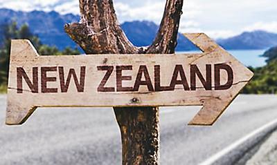 新西兰净移民人数连降 已至2015年水平