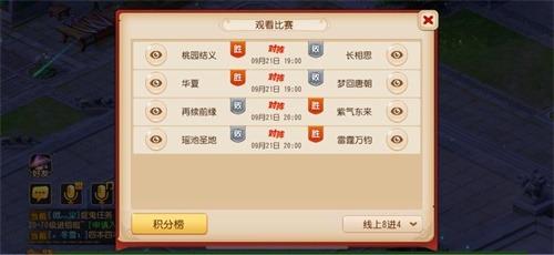 网易电竞NeXT梦幻西游手游8进4精彩对决 晋级名单热辣出炉