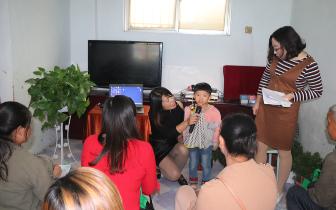 驻马店惠耳听力验配中心走进妈妈爱特教之家关爱听障儿童