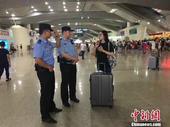 进站|广铁警方节前严惩带客进站、有偿插队购票等行为