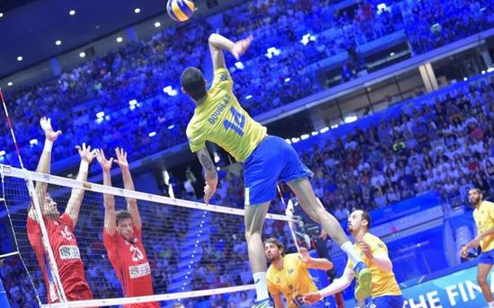 男排世锦赛巴西波兰连续两届争冠 美国无缘决赛