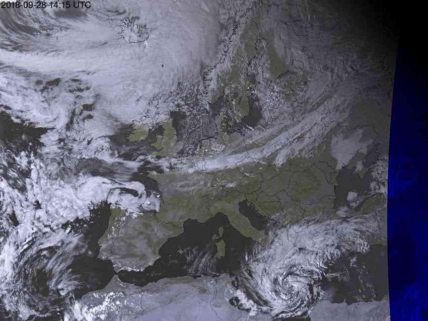 """少见!地中海上生成了一个""""台风"""",全球气候已经急剧改变?"""