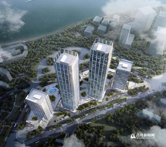 绿地双子塔规划公示 投资30亿打造城市综合服务中心