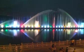 伊通河|@长春人 伊通河音乐喷泉国庆节间持续开放