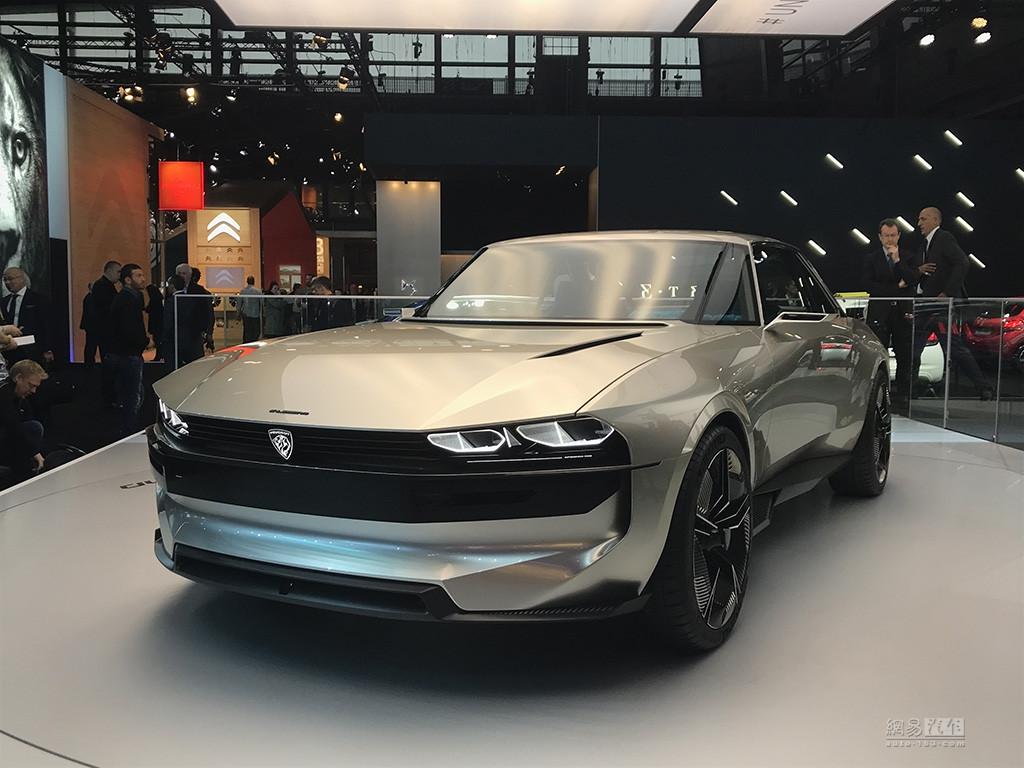 用创新向经典致敬 标致e-Legend概念车亮相