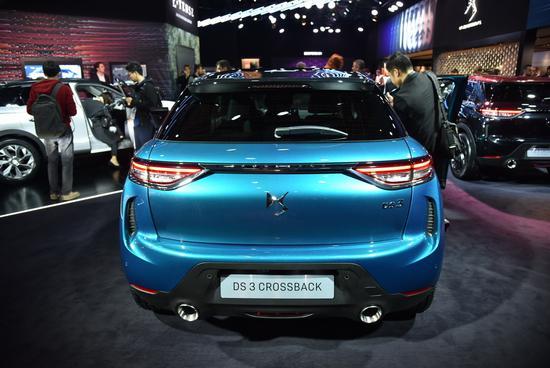 燃油/电动版同步推出 DS 3 Crossback发布