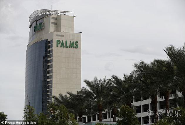据称袭击事件发生在棕榈酒店和赌场