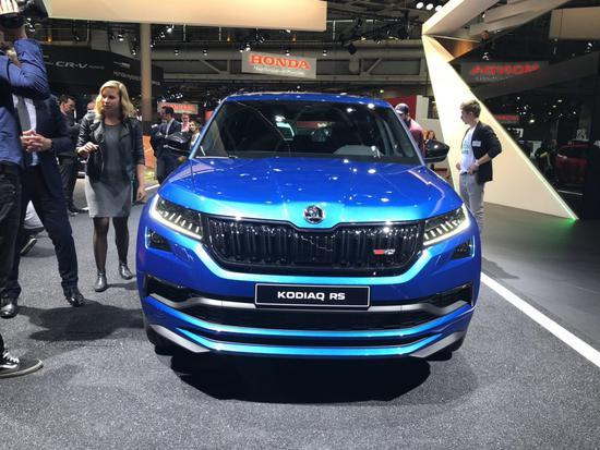 斯柯达SUV也玩高性能 柯迪亚克RS首发亮相