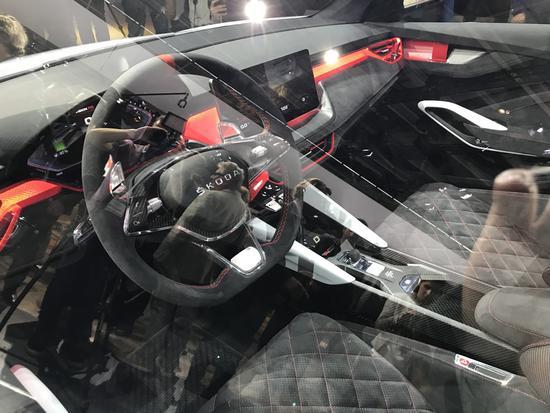 搭载插电混动系统 斯柯达推VISION RS概念车