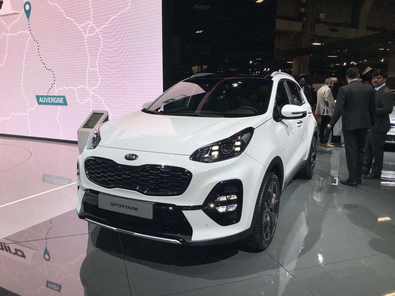 外观小幅改动 起亚新款SPORTAGE车型发布