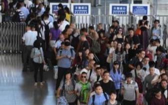 国庆当天全国铁路发送旅客1625万人次 创单日新高