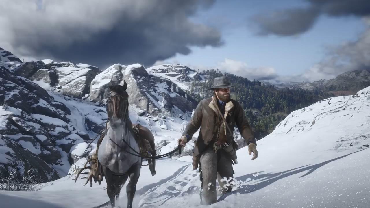 《荒野大镖客2》实机游戏预告 展现19世纪西部绝美景色